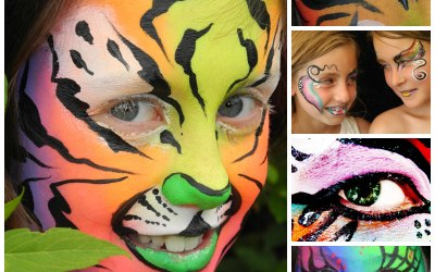 Eventertainers face painting kids adults