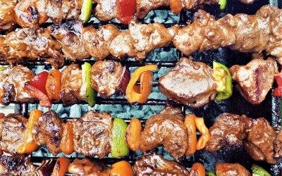 Bbq Lamb Kebab/ Skewers/ Sosaties South African recipe