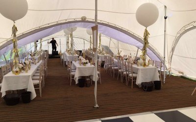 Capri marquee wedding chivari chairs