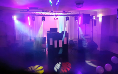 Party and wedding mobile disco and DJ