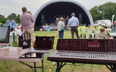 High quality sound comes from great gear - and a great sound engineer