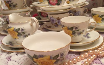 Herts Vintage China Hire Vintage Tea Parties