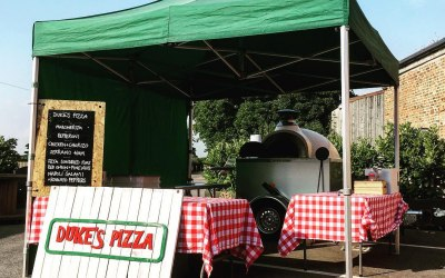 Trailer Oven Set Up