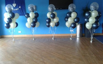double bubble balloon clusters