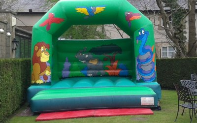Jungle Animal Bouncy Castle
