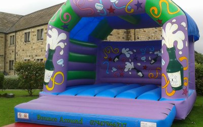 15ft x 17ft Adult Wedding Bouncy Castle