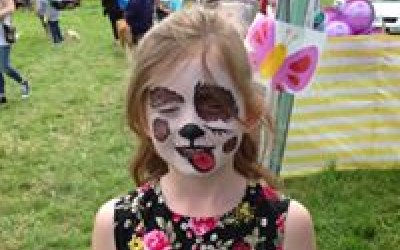 Party Gems UK face painting outdoor event