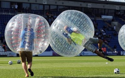 Bubble Football Zorb Hire