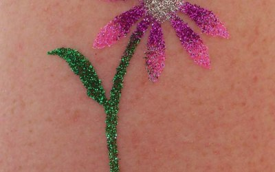 Glitter Tattoos. 2