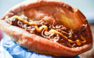 Pulled Beef 'n' Yorkie Wrap