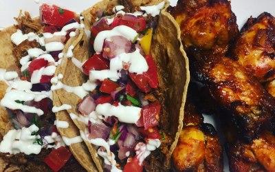 tacos & chicken wings