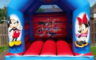Childrens 12ft x 15ft Bouncy Castle