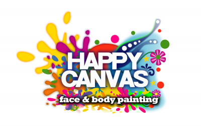 Happy Canvas Face Paint London Logo