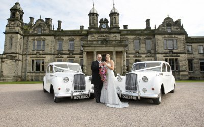 Our matching pair of Austin Princess Limousine's
