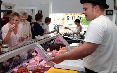 A look inside Alexandrina Victoria deli counter in Twyford, Berkshire