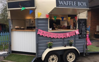 """Private Birthday Party - Crepes and """"affles"""