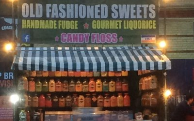Outside Sweets Stall