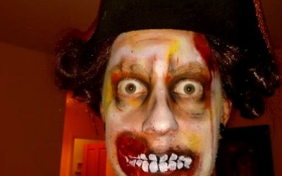 Zombie Pirate for Halloween