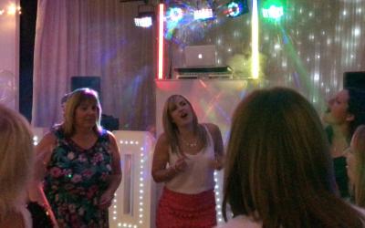 Happy Singing Crowd