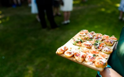 Fat Hog and Big Pan's Catering Canapes