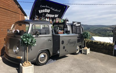 VW T2 Mobile Bar ready for a private party