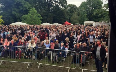 Outdoor Concert - Mobile Stage, Sound and Lighting Hire - EWPSL
