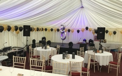 Marquee Stage Hire East Midlands
