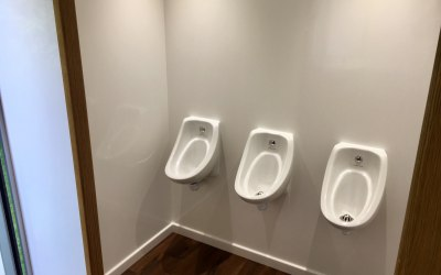 Luxury toilet urinals