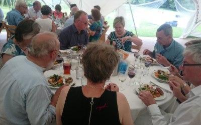 Wedding BBQ in Knepp Castle