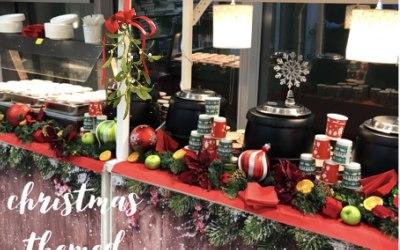 Christmas themed carts