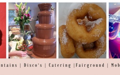 Worcestershire Events Hire (Coconut shy,Chocolate Fountain, Freshly made Donuts and Mobile Truss)