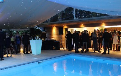 Marquees by TML 'tents + events'.