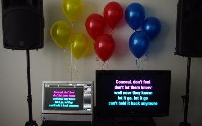 Hire karaoke equipment