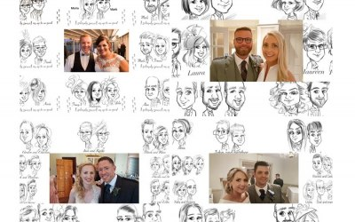 live ipad caricatures to entertain your guests at events throughout scotland