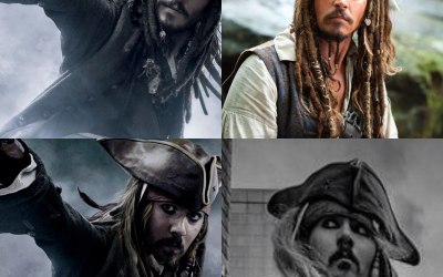 Captain Jack Sparrow Lookalike 9