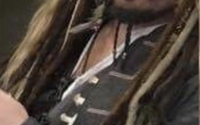 Captain Jack Sparrow Lookalike 6