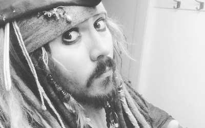 Captain Jack Sparrow Lookalike 8