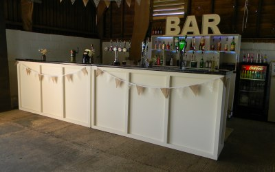 One of our  Pop Up  Wedding/party Bar