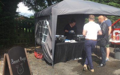 BBQ catering - Launch of Reep Group Reading