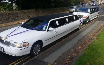 choiice of 2 x lincoln towncars 8 seater