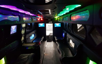32 seater partybus interior