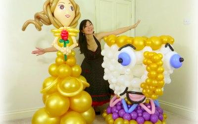 Life size balloon sculptures