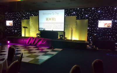 Conference or Awards Sets Hire and Event Production