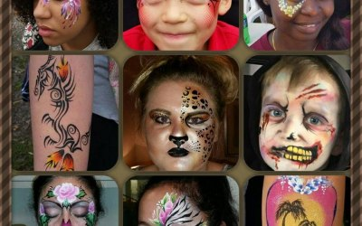Bugz & Butterflies Face and Body Painting