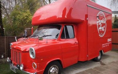 Vintage style truck