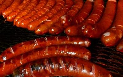 Smokde sausages