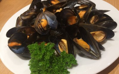 Marinara style Scottish Mussels