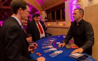 Croupier and table hire