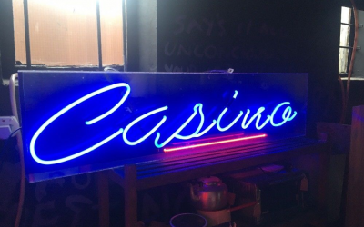 Neon sign to add a little class