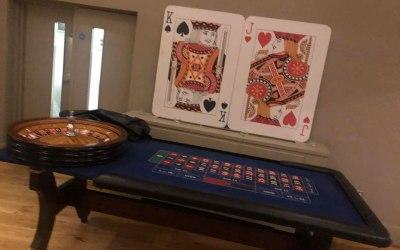 Roulette set up